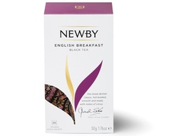 Чай Newby English breakfast 25 пакетиков