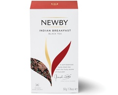 Чай Newby Indian breakfast 25 пакетиков