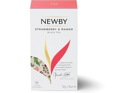 Чай Newby Strawberry & Mango 25 пакетиков