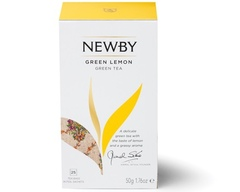 Чай Newby Green lemon 25 пакетиков