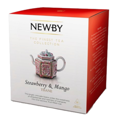 Чай Newby Strowberry and mango, 15 шт